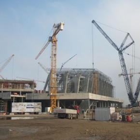 Львівський стадіон до ЄВРО2012. Фото 18.11.10