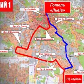 У Львові тепер є нічні автобуси але на свято кави лише