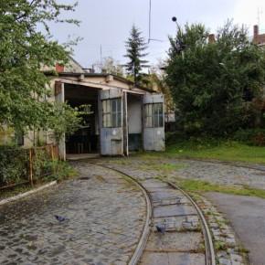 Трамвайне депо на вул. Городоцькій