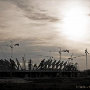 Незвичний погляд на будівництво львівського стадіону