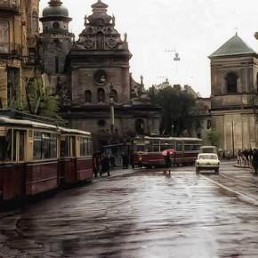 Старенький трамвай