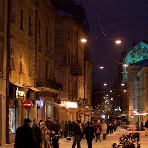 Зимові фото Львова