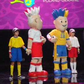 Візит талісманів «Євро-2012» до Львова