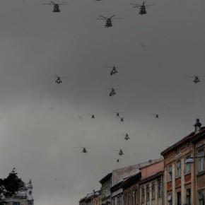 Вертольоти, гвинтокрили, гелікоптери і Львів