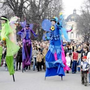У Львові пройде Міжнародний театральний фестиваль «Золотий Лев на вулиці 2009»